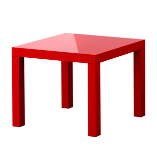 table-appoint-carree-rouge